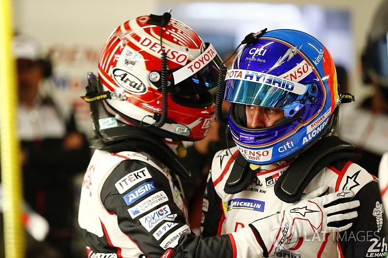 Alonso hails Nakajima for stunning Le Mans pole lap