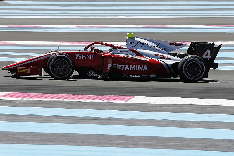 De Vries se llevó la victoria del domingo en la F2