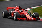 Vettel puts Ferrari on top on second day of testing