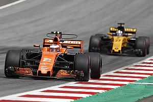 Formule 1 Actualités Officiel - McLaren avec Renault à partir de 2018