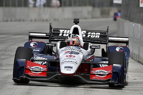 IndyCar IndyCar-Double-Header in Detroit: Graham Rahal siegt auch in Rennen 2