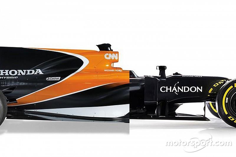 La comparación del McLaren 2017 vs. 2016