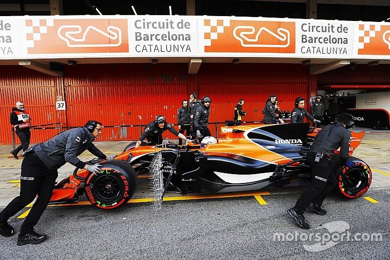 McLaren - Les problèmes du moteur Honda sont