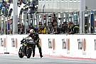 """バイクを""""押して""""フィニッシュ「MotoGPはショーなんだ!」とザルコ"""