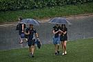 Ismét esik Szingapúrban: 45 perc a rajtig
