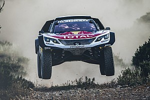 Dakar Galería VIDEO: Peugeot prueba su Maxi 3008DKR