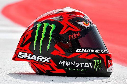 """Fotogallery: ecco """"Diablo"""", il nuovo casco di Jorge Lorenzo"""