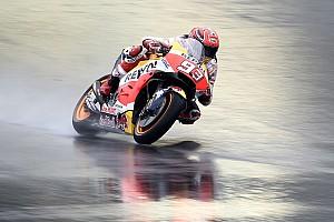 MotoGP Practice report Motegi MotoGP: Marquez dominates wet first practice