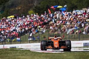 Fórmula 1 Crónica de test Vandoorne el mejor del test matutino en Hungría