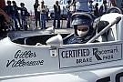 Formula 1 Gilles Villeneuve's very first driving course