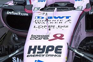 Fórmula 1 Noticias El Force India lucirá el lazo rosa de la lucha contra el cáncer de mama