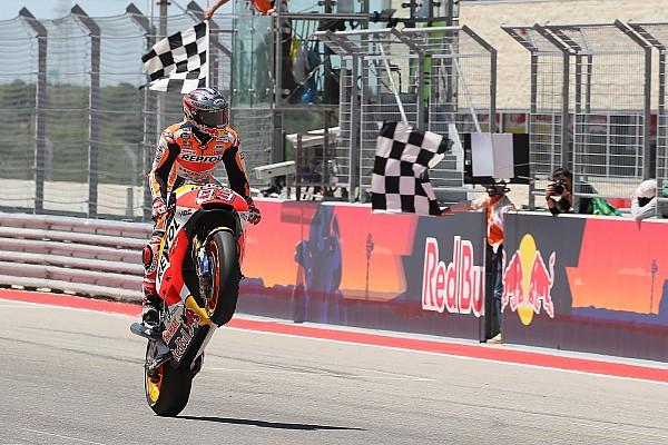 MotoGP Race report MotoGP Amerika: Marquez rajai balapan, Vinales terjatuh