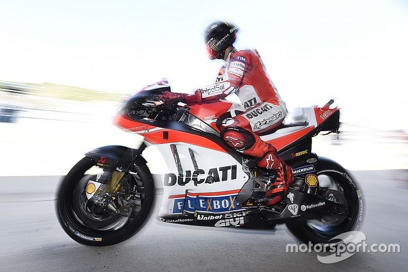 Lorenzo de plus en plus à l'aise sur la GP17