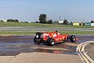 Джовинацци протестировал новые дождевые шины Pirelli