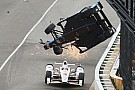 """IndyCar Castroneves on Dixon shunt: """"They were flying. I duck, close my eyes"""""""