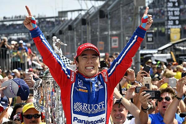 IndyCar Отчет о гонке Такума Сато победил в Indy 500, Алонсо подвела Honda
