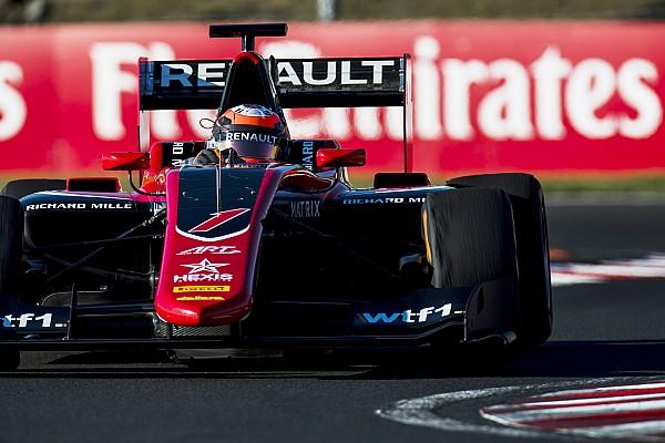 GP3 Hungaroring: Aitken wint hoofdrace, pech voor Russel en Schothorst