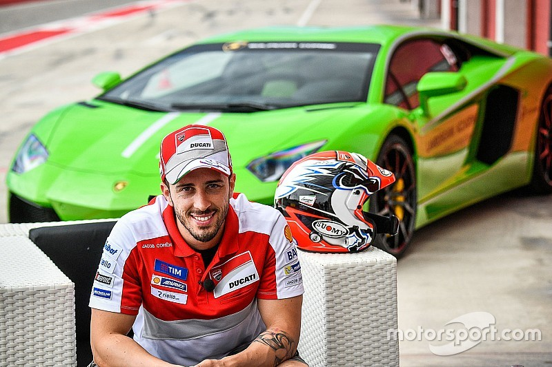Dovizioso akan balapan Lamborghini di Valencia