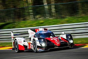 WEC Interview Toyota bullish of Le Mans chances despite Spa disaster