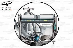 Formula 1 Blog Giorgio Piola tech blog: Australian GP