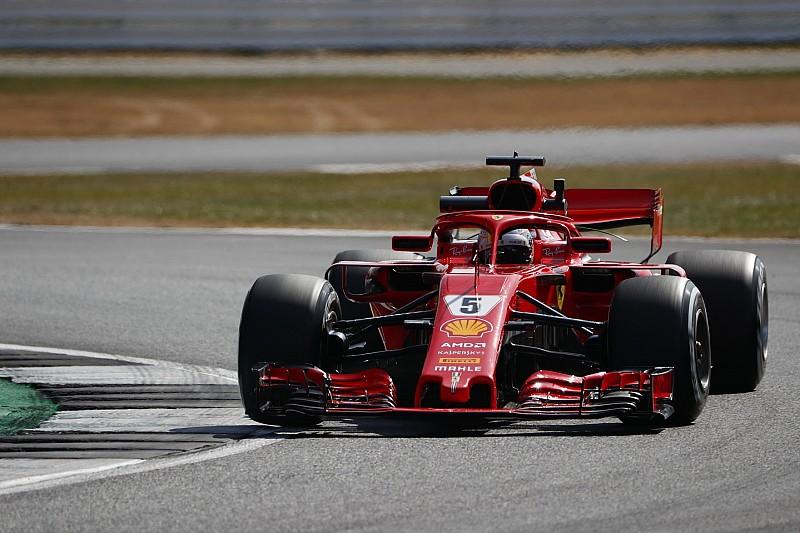 Britanya GP 2. antrenman: Vettel lider, Verstappen kaza yaptı!