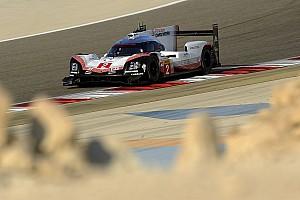 WEC Verslag vrije training WEC Bahrein: Porsche aan kop in laatste training