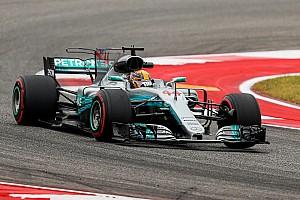 Formel 1 2017 in Austin: Hamilton im letzten Training knapp vor Vettel