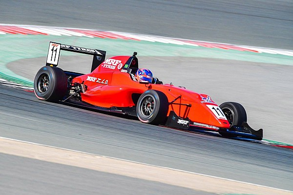 Indian Open Wheel Dubai MRF: Drugovich eases to Race 1 win