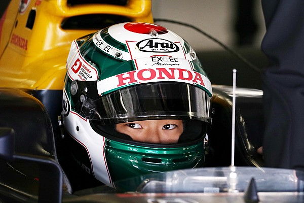 F1 インタビュー 福住仁嶺「レッドブルの一員として走ることに興奮し、燃えている」
