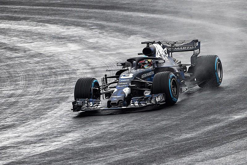 Neuer Red Bull RB14: Ricciardos Silverstone-Roll-out fällt ins Wasser