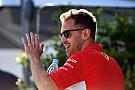 """Fórmula 1 Vettel brinca sobre Ricciardo na Ferrari: """"É um bom garoto"""""""