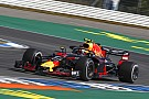 Verstappen first to take Hockenheim's Turn 1 flat