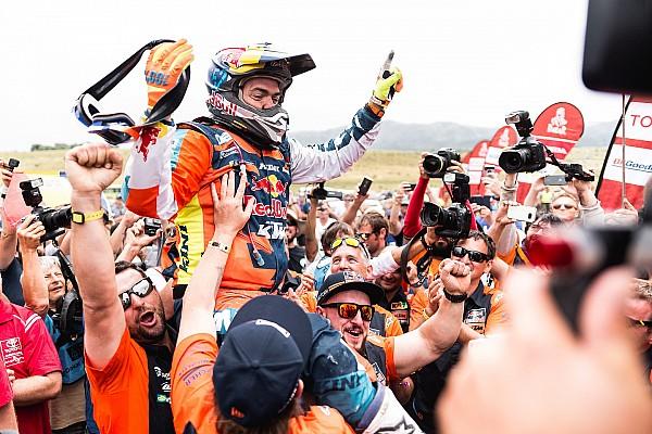 Walkner ungkap kesuksesan juarai Reli Dakar 2018