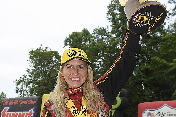 NHRA Race report Inaugural Virginia Nationals yields wins for C. Force, Torrence