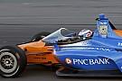 IndyCar В IndyCar испытали «аэроскрин» на трассе – уже есть первые жалобы