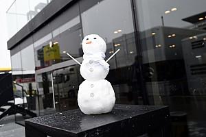 Fórmula 1 Top List GALERIA: Veja imagens do Circuito de Barcelona sob a neve