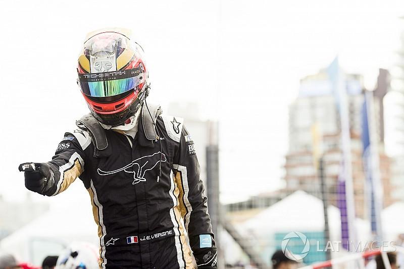"""Vergne a remporté sa """"victoire la plus dure"""" en Formule E"""