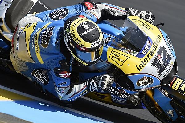 Diaporama : Thomas Lüthi dans le Grand Prix de France
