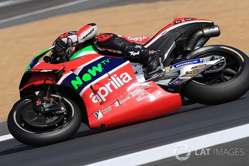Aprilia confirms Iannone will replace Redding