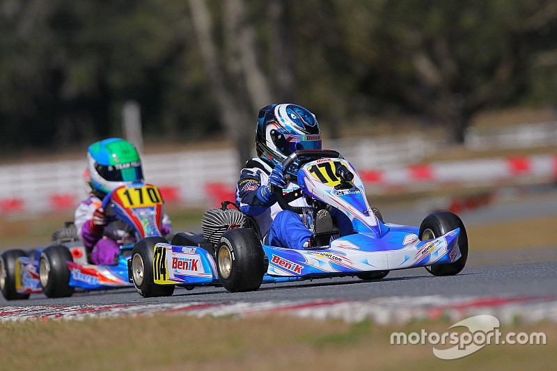 OGP trio take top spots in qualifying for Florida Winter Tour ROK Cup