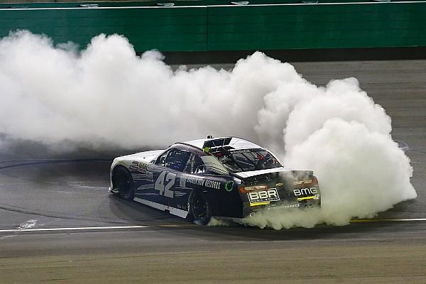 NASCAR XFINITY Tyler Reddick dominates at Kentucky, earning first Xfinity win