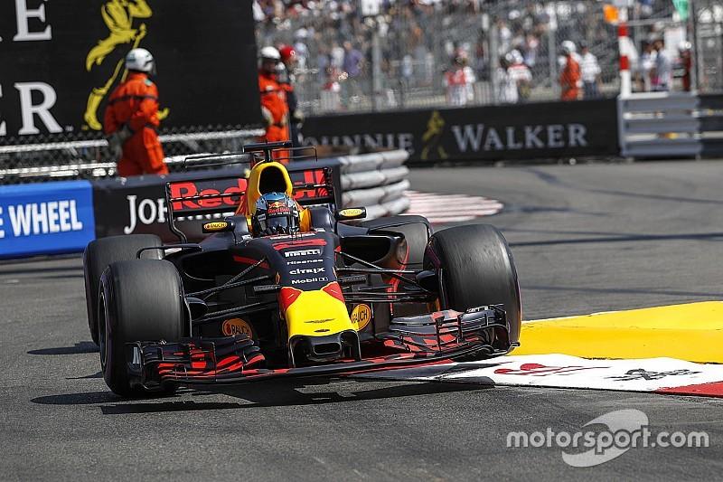 Formel 1 2017 in Monaco: Daniel Ricciardo wegen Fehler frustriert