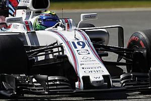 Forma-1 Jelentés a versenyről Messze indultak egymástól, végül egymás mögött ért célba a két Williams