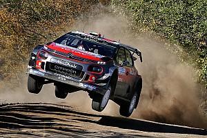 WRC Preview Four Citroën C3 WRCs line up for Rally de Portugal