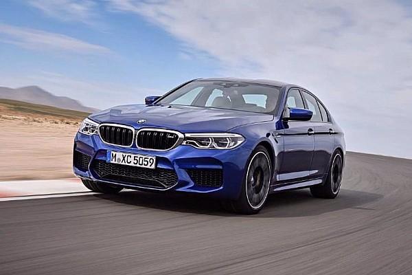 Auto Actualités Les photos de la nouvelle BMW M5 fuitent sur le web!