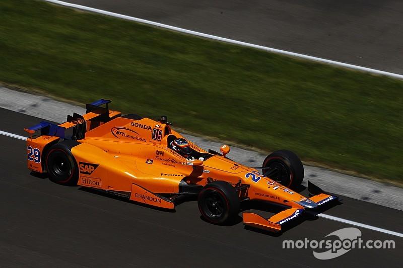 迈凯伦确认阿隆索将进行IndyCar测试