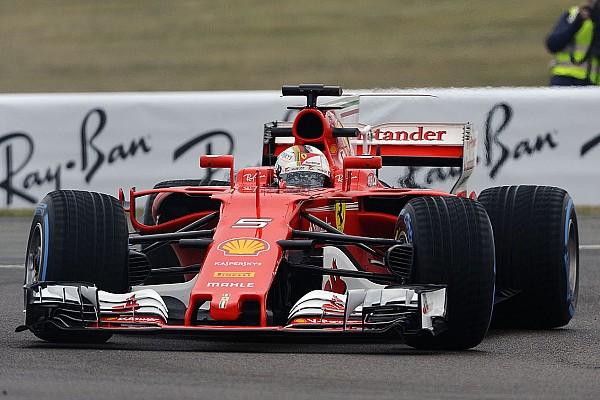 Formel 1 News Sebastian Vettel dreht erste Runden im neuen Ferrari SF70H