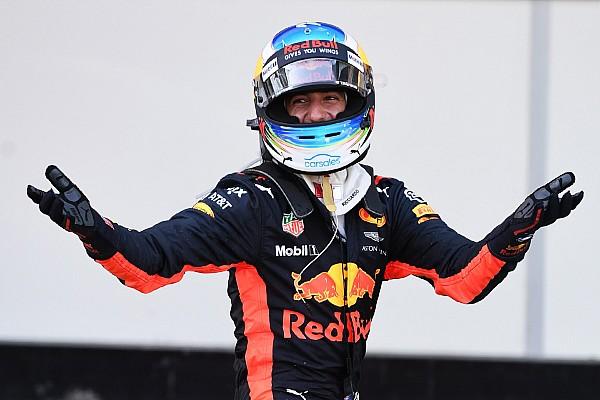 F1 La historia detrás de la foto: la victoria loca de 'Dan the man' en Bakú