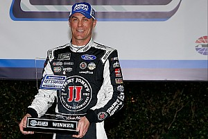 NASCAR Cup Qualifying report Harvick edges Newman for Atlanta pole