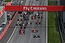F1 La FIA ajusta las reglas sobre las salidas en falso para 2018